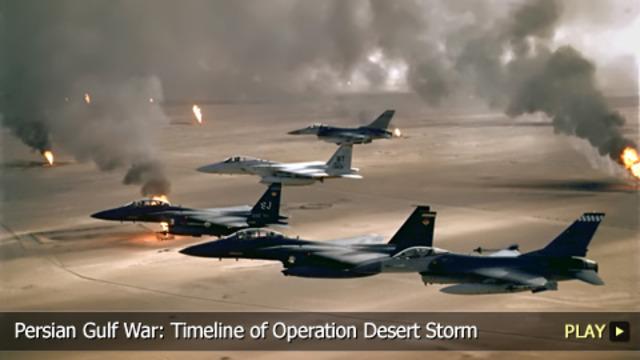 Beginning of the Gulf War