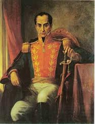 Simon Bolivar Route To Victory