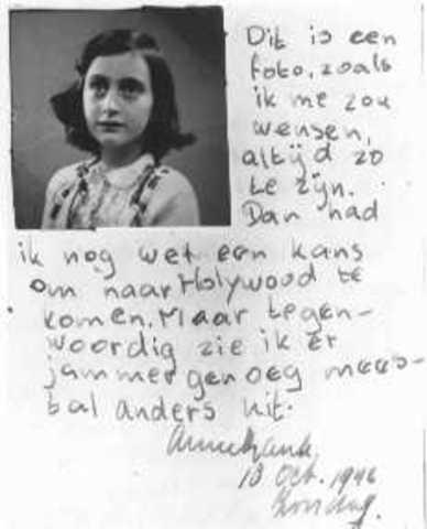 Anne Frank, 6 de Junio 1944