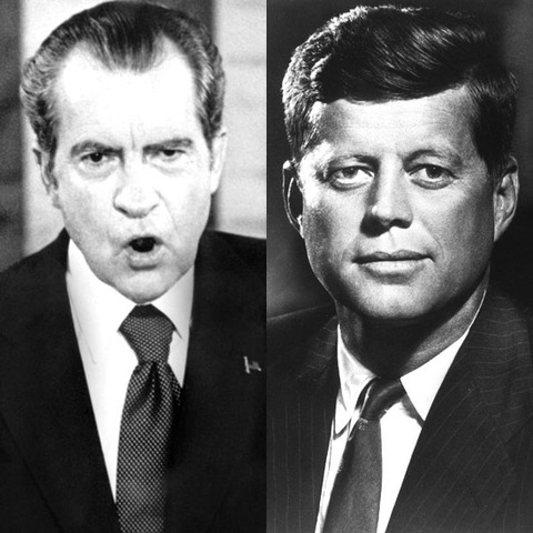 John F. Kennedy wins election against Richard Nixon