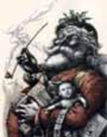 Draws Santa