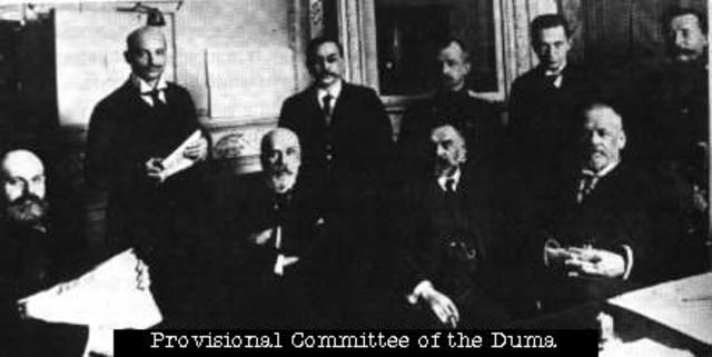Provisional Government established