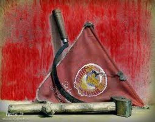 Solviet Government disintegration