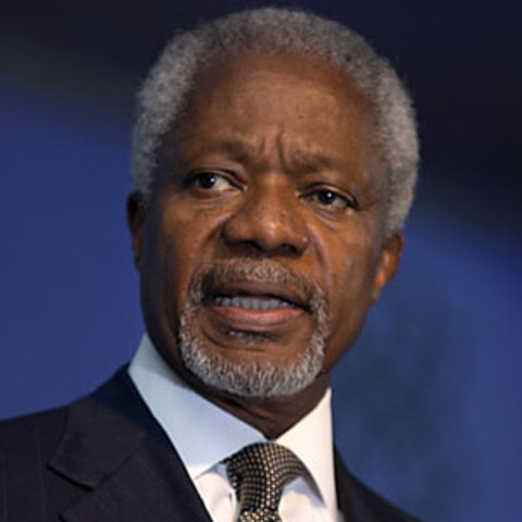 Kofi Annan appointed as UN Special Envoy for Syria