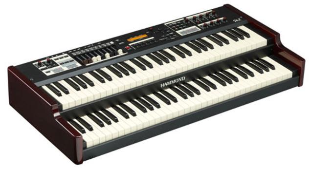 Hammond organ created by Laurens Hammond