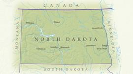 North Dakota History timeline