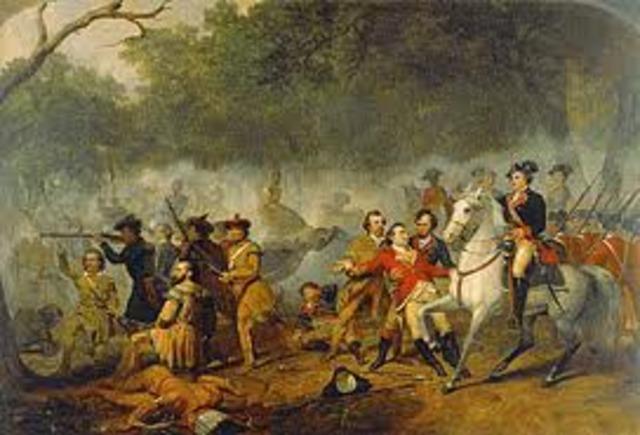 British soilders sent into Ohio River Valley