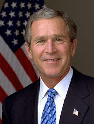 George W Bush Take Office