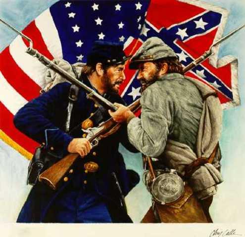 American civil war starts