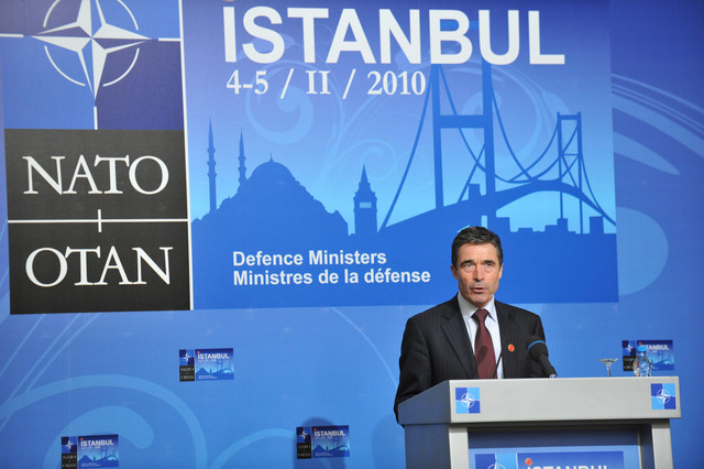 Anders Fogh Rasmussen commence the post as General of NATO