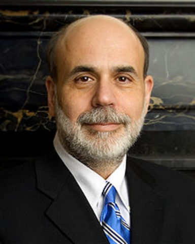 Ben Bernake Becomes Chair of Fed