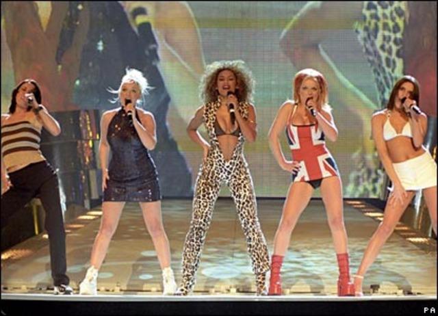 """Primer concierto """"Spiceworld Tour"""""""