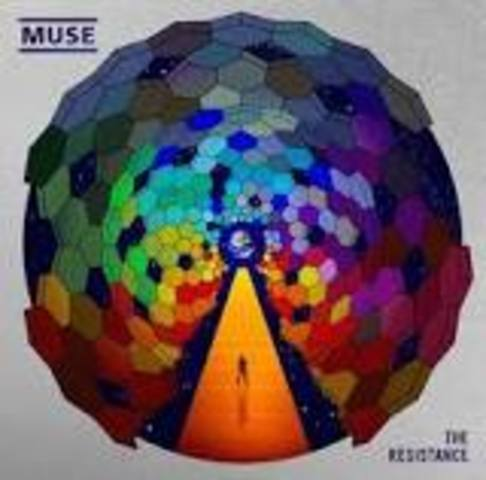 5o álbum de MUSE: THE RESISTANCE.