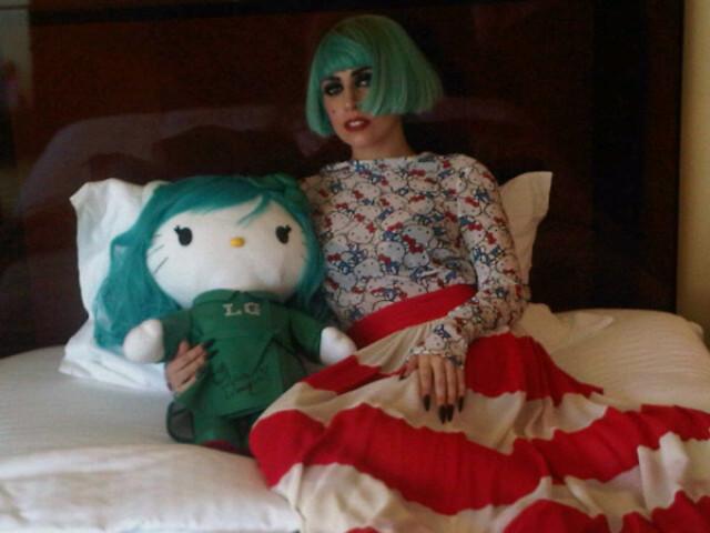 Lady Gaga Loves Hello Kitty: It's 'kawaii!'