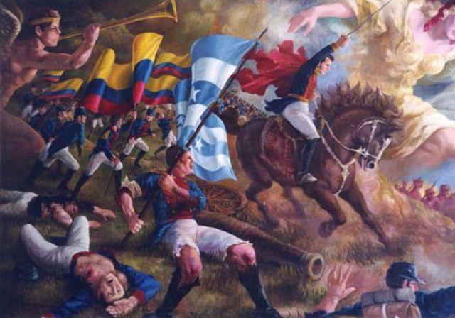 Comienza la guerra de la independencia de las colonias en Hispanoamérica