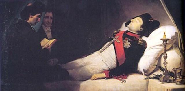 Muere Napoleón Bonaparte