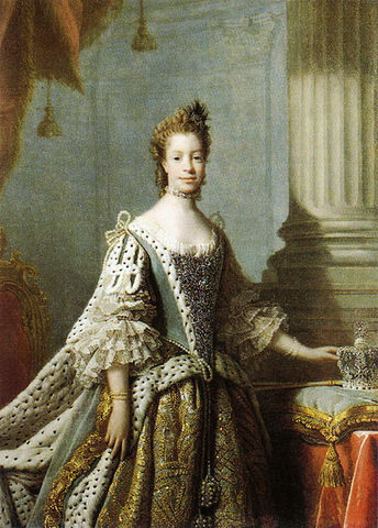 Married Duchess Sophia Charlotte of Mecklenburg-Strelitz