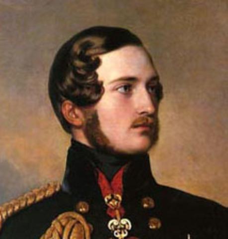 Prince Albert Dies