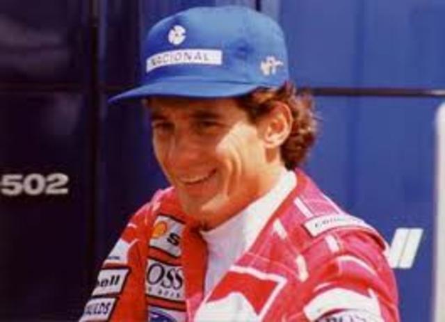Ayrton Senna da Silva died.