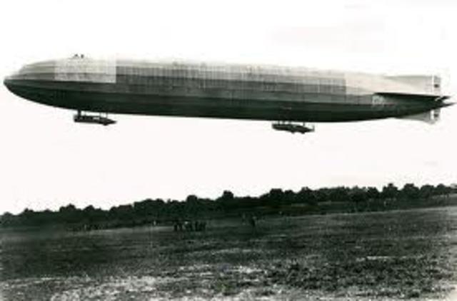 First Zeppelin Raid in ww1