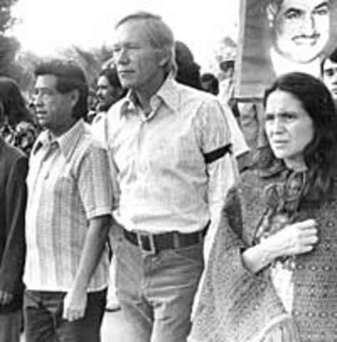 Cesar Chavez and Dolores Huerta