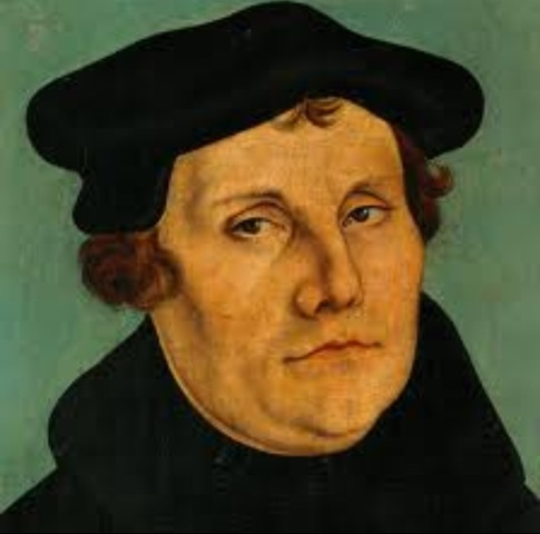 Martin Luther posts 95theses on the door of the Catle Church