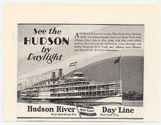 End of Hudson River Day Line