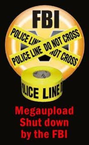 FBI Shuts Down Megaupload.com