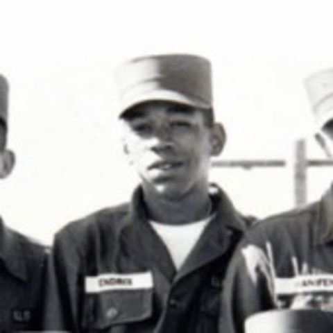 Jimi hendrix in listed in the army.