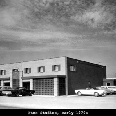 History of Fame Studios, Muscle Shoals, Alabama timeline