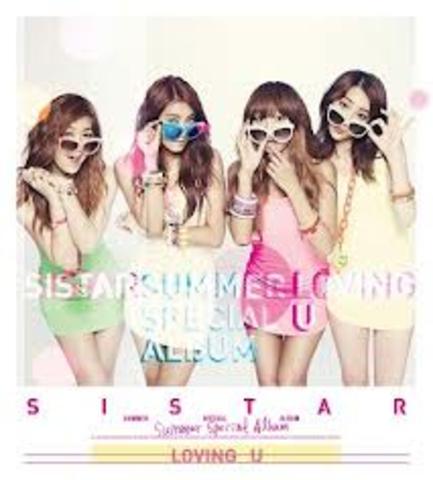 """[Sistar] Releases """"Loving U"""" Music Video"""