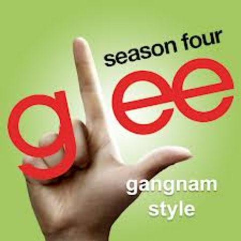 Glees own 'Gangnam Style Episode