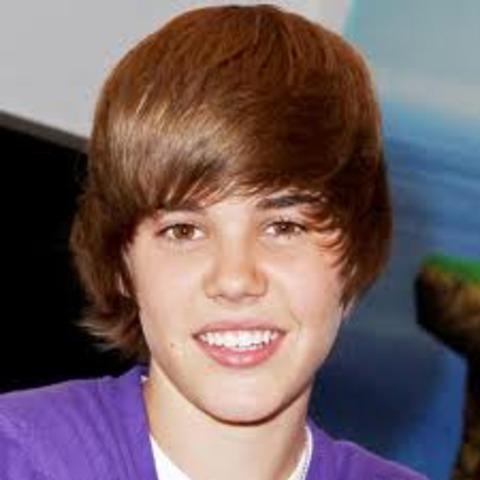 Justin became popular