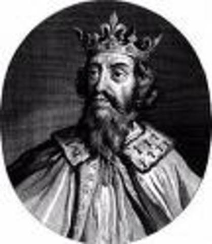 Alfred the great begins rule in England