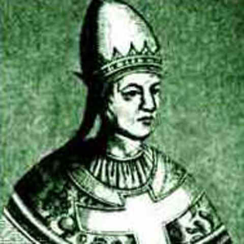 the monk Hildebrand becomes Pope Gregory VII