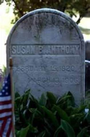 The Life of Susan B. Anthony