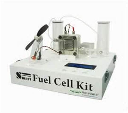 Gas powered fuel cell
