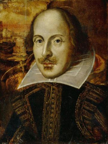 Shakespeare's first job.
