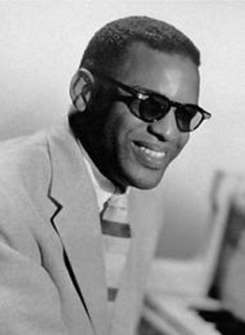 Ray Robinson (Ray Charles) was born