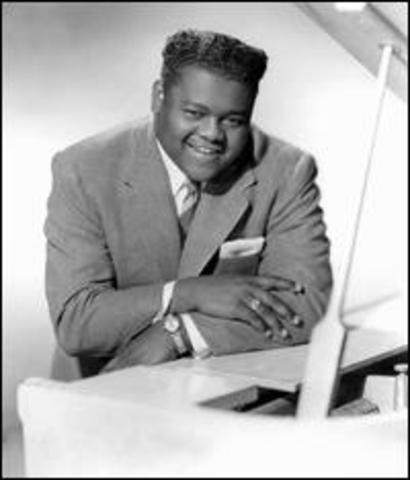 "R&B ""The Fat Man"",  Fats Domino"