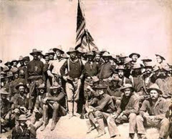 Theodore Roosevelt Rough Riders