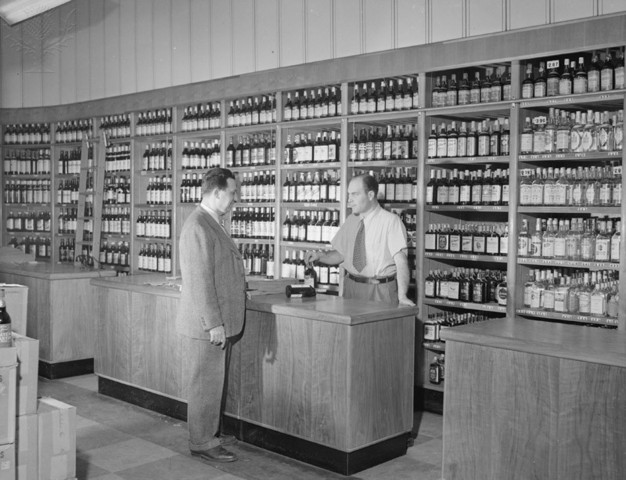 First Liquor Store was Opened