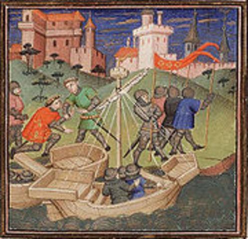 William the Coqueror invades England