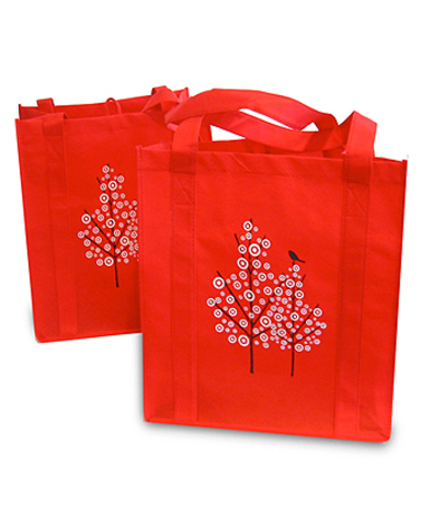 Purchase and use fabric grocery bags as much as possible for a month 5x