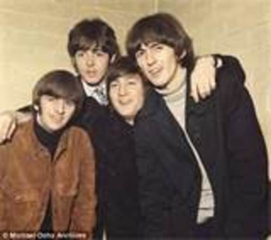 Beatles, with J.Lennon were discovered