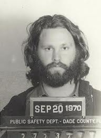 Jim Morrison starts a nude Riot.