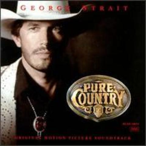 "George was in the movie called ""pure country"""