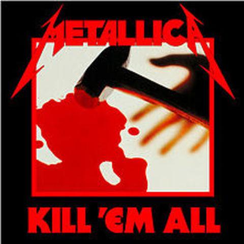 Metallica released their first album.