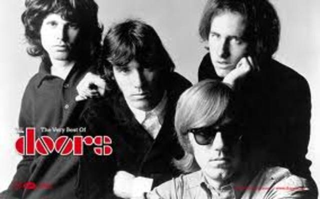 The Doors fame starting to rise.