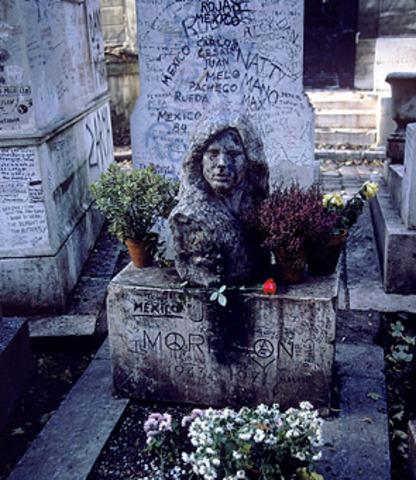 The Death of Jim Morrison.